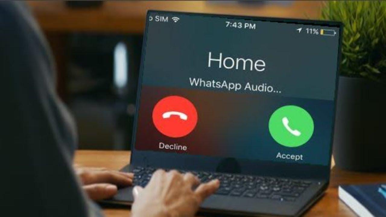 Whatsapp call on Pc
